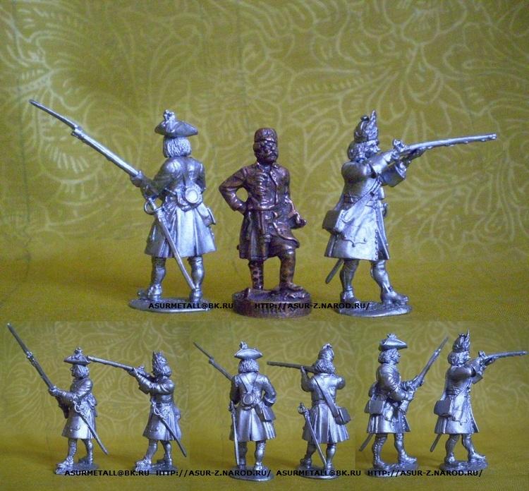Оловянные солдатики своими руками классический размер 31